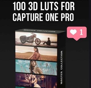 100 Perfiles Lut 3d Para Capture One Pro