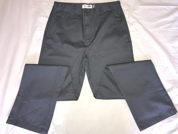 Pantalón Escolar Gris Old Navy Importado Talle 18 Ajustable