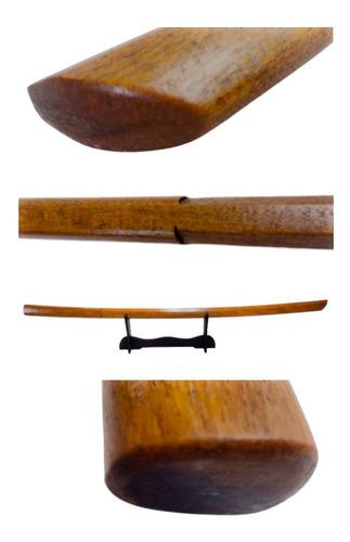 Imagem 1 de 7 de Boken Bokuto Espada Madeira P/treino Kenjutsu Aikido Samurai