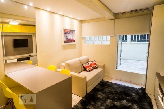 Studio Térreo Mobiliado Com 1 Dormitório - Id: 892952279 - 252279