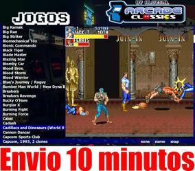Jogos Arcade Fliperama Promoção Envio Rápido 10 Minutos