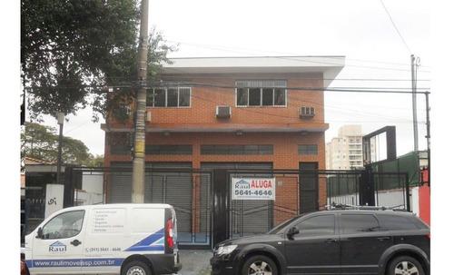 Imagem 1 de 15 de Locação Galpão - Vila Cruzeiro, São Paulo-sp - Rr364