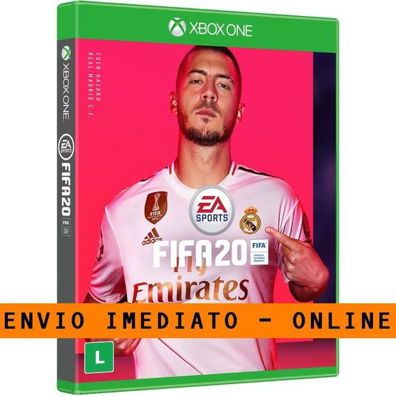 Fifa20 - Xbox One Mídia Digital +2 Jogo Brinde
