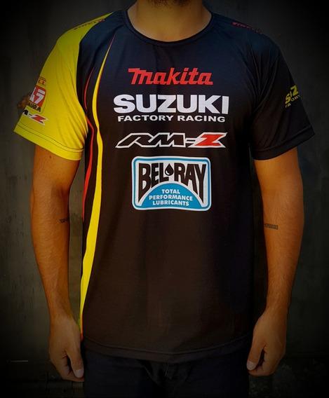 Remera Suzuki Casual Deportiva Nacional - Andrés Motos