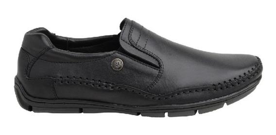 Zapato De Cuero Ringo Bilgax 05 Negro