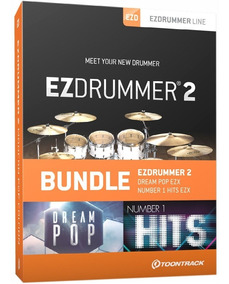 Ezdrummer 2 + Pacotes Midi - Windows E Mac