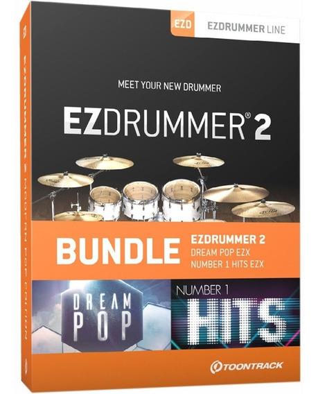 Ezdrummer 2 + Pacotes Midi - Windows E Mac