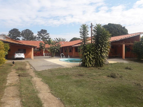 Chácara 5 Dormitórios E Piscina À Venda, 1000 M² Por R$ 450.000 - Distrito Do Porto - Capela Do Alto/sp - Ch0023