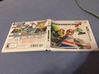 Caja Original Para Mario Kart 7 (juego No Incluido)