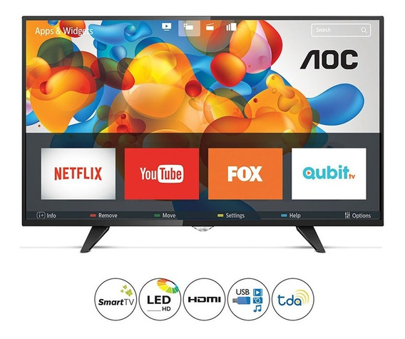 Tv Led Smart Hd Aoc Le32s5970s