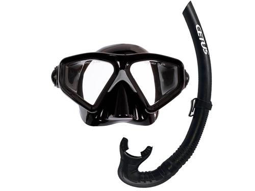 Kit Máscara E Snorkel Rapallo Cetus - Promoção