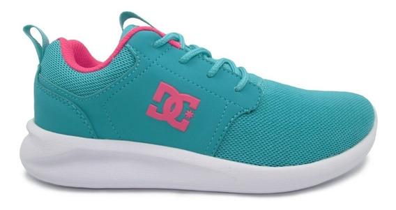 Tenis Dc Shoes Midway Sn Adjs700045 Tel Teal