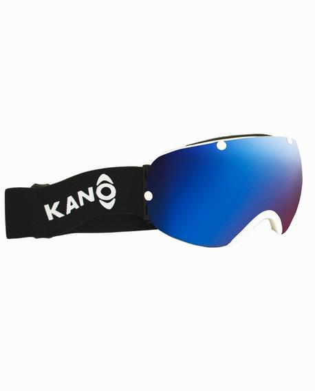 Antiparra Ski Snowboard Kano Ajustables Protección Uv /azul