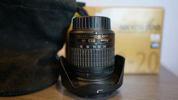 Lente Nikkor (nikon) Af-p Dx 10-20mm F/4.5-5.6g Vr - Na Caix