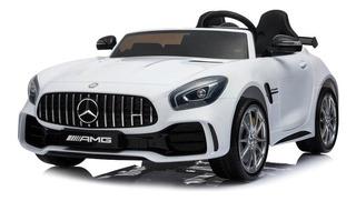Auto Mercedes Benz Amg Gtr Eléctrico Blanco Original Niño