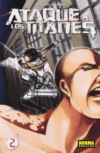 Imagen 1 de 2 de Shingeki No Kyojin Attack On Titan Ataque A Los Titanes  2
