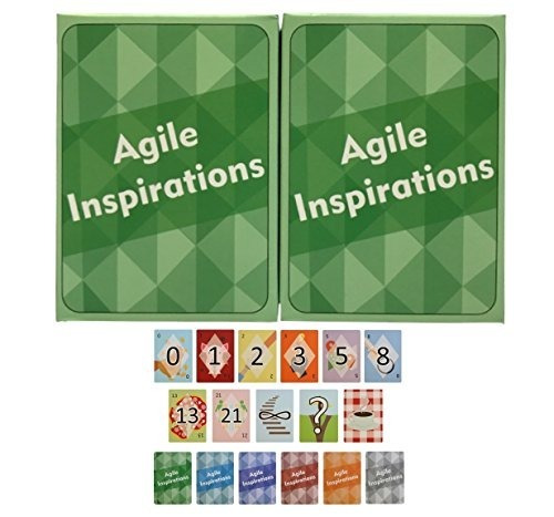 Agile Inspirations Planning Poker Cards For Estimation [pack