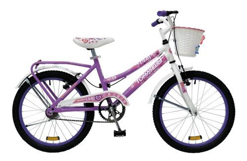Bicicleta Lady Rodado 20 Tomaselli Nena - Cordoba