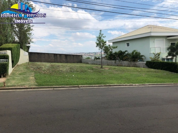 Venda Terreno Condomínio Alphaville Campinas Sp. - Te00206 - 67862213