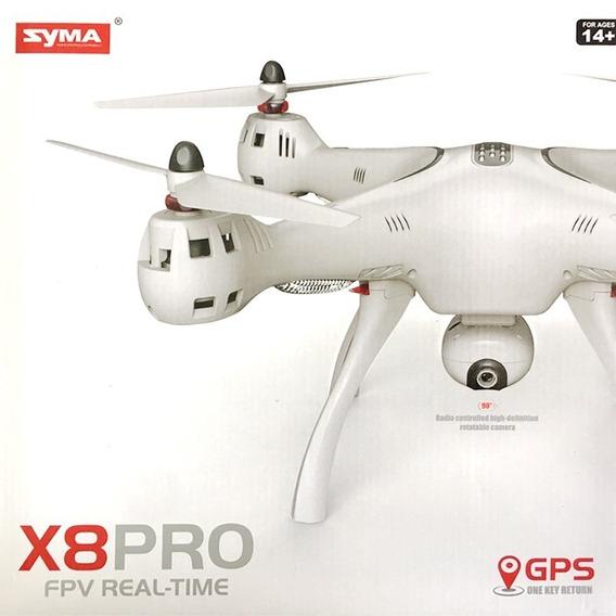 Drone Syma X8 Pro C/ Câmera Fpv Wifi + Gps / Atualizado 100%