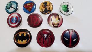 Botons - Pins Personalizados Resinados - 10 Unidades