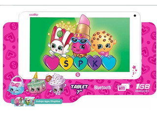 Tablet Level Up Shopkins 7 Pulgadas Android