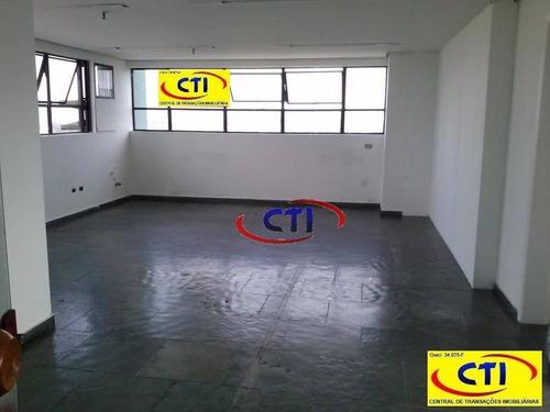 Sala Comercial Para Locação, Rudge Ramos, São Bernardo Do Campo. - Sa0058