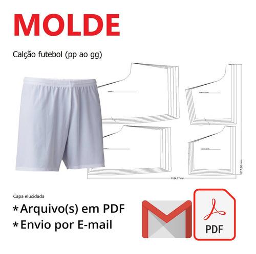 Molde Molde Calção Futebol (pp Ao Gg)