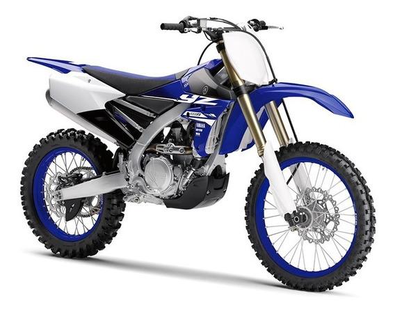 Moto Yamaha Yz 450 Fx 0km 2018 Azul