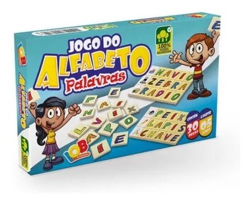 Imagem 1 de 5 de Jogo Do Alfabeto Palavras - Iob Brinquedos