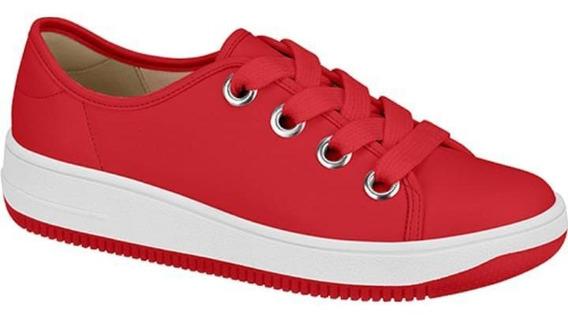 Tenis Feminino Vermelho Beira Rio 4238.101