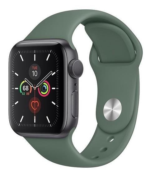 Apple Watch Série 5, Alumínio, Pulseira Sport Verde 40mm
