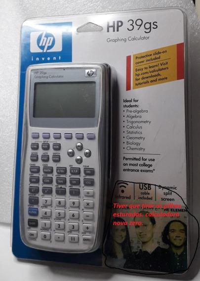 Calculadora Hp 39gs Gráfica Cientifica. Nova
