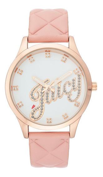Reloj Juicy Couture Piel Correa Rosa