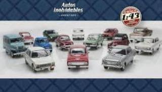 Lote Autos Inolvidables 1 Al 60 + La Perlita + Gmc - 1/43