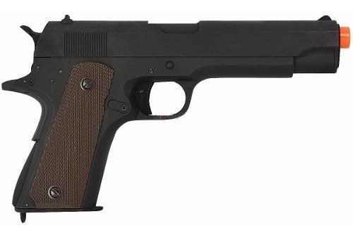 Pistola Airsoft Elétrica Cyma Colt 1911 Full Metal Bivolt