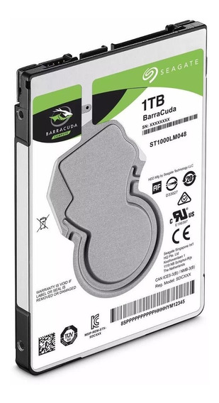 Hd Notebook 1tb Sata- Seagate Barracuda Slim- 7mm Ps4 X-box