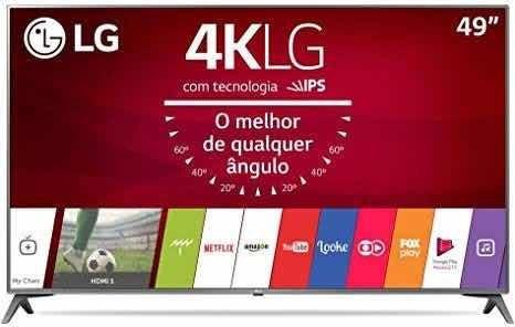 Tv LG 49uj6565 Tela Trincada
