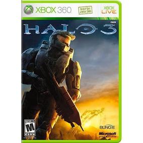 Jogo Xbox 360 Halo 3 (lacrado) Midia Fisica