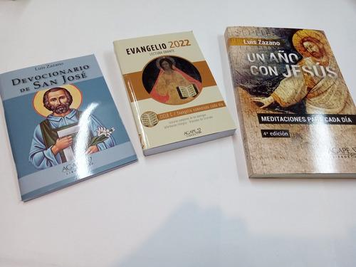Imagen 1 de 1 de 3 Libros Del Padre Luis Zazano Evangelio 2022+ Ver Foto