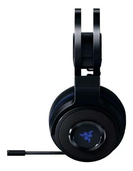 Headset Gamer Razer Thresher For Ps4 - Sem Fio E Com Fio P2