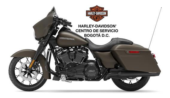 Harley Davidson Street Glide® Special, River Rock Gray Denim