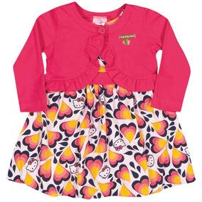Conjunto Infantil Menina Hello Kitty Vestido 1250.86700