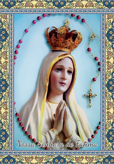 Milheiro Nossa Senhora De Fátima - 7x10 - Frete Grátis
