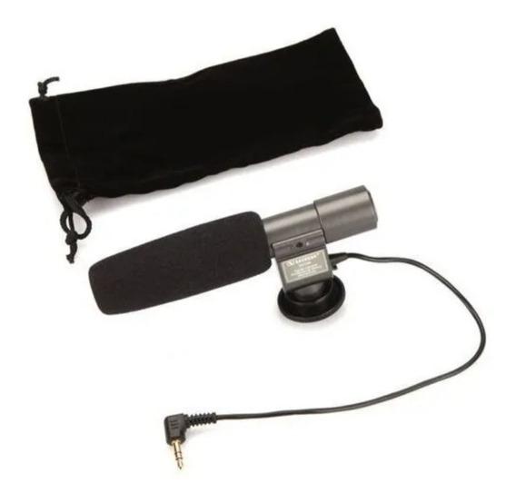 Kit Filmmaker Dslr (microfone Direcional+para Sol+bateria)