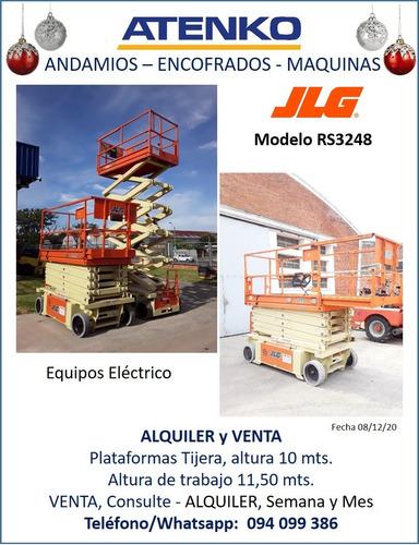 Alquiler Plataforma Tijera Andamio Eléctrica