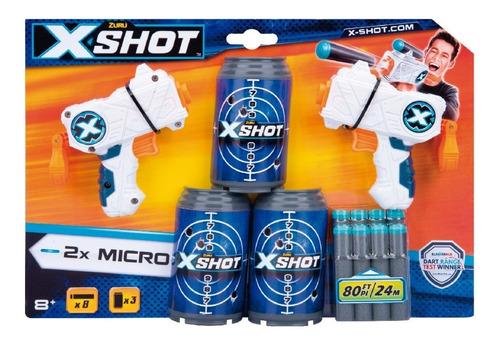 Pistola Arma De Juguete X Shot Excel Double Micro Para Niños