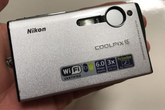 Camera Digital Nikon Coolpix S6