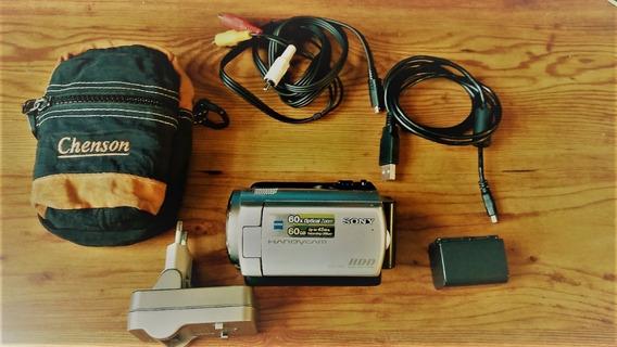 Filmadora Sony Handycam Dcr Sr47 Hd 60gb Zoom 60x