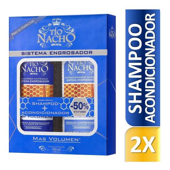 Tío Nacho Monoestuche Engrosador Shampoo + Acond X 415ml